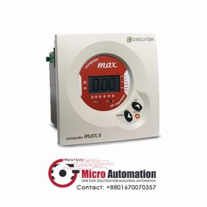 Computer MAX6 Power Factor regulator Micro Automation Bd