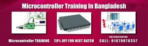 Microcontroller training in Bangladesh