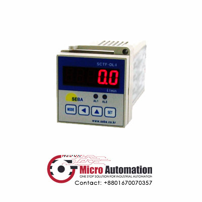 Flow Meter Indicator SEBA INC SCTF DL5