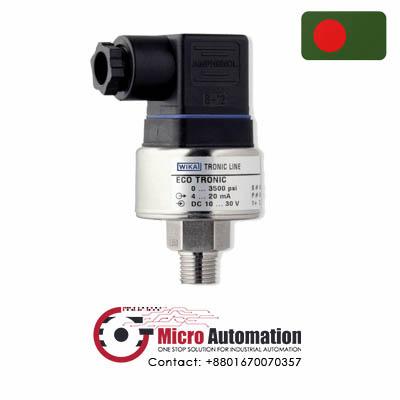 wika eco 1 tronic line 400 Bar pressure transmitter