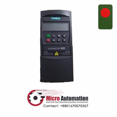 SIEMENS 6SE6 420 2UC15 5AA1 Micromaster 420 Drive Bangladesh