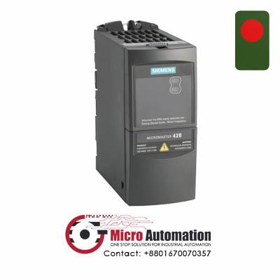SIEMENS 6SE6 420 2UC17 5AA1 Micromaster 420 Drive 0.75kW Bangladesh
