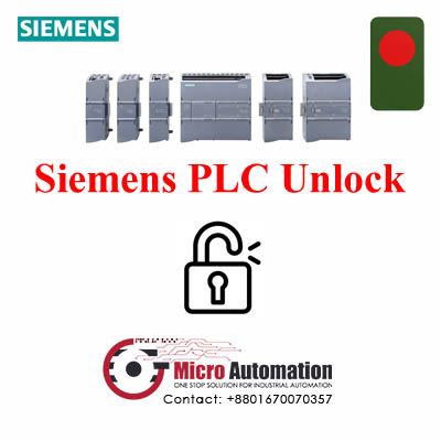 Siemens PLC Unlock in Dhaka Bangladesh