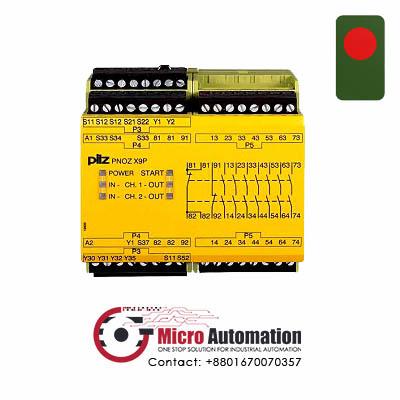Pilz PNOZ X9P 24V Safety Relay Bangladesh