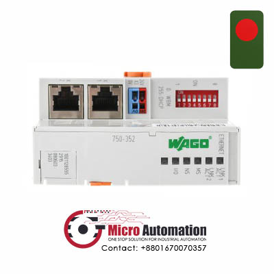 WAGO 750 352 Ethernet TCP IP Fieldbus Coupler Bangladesh