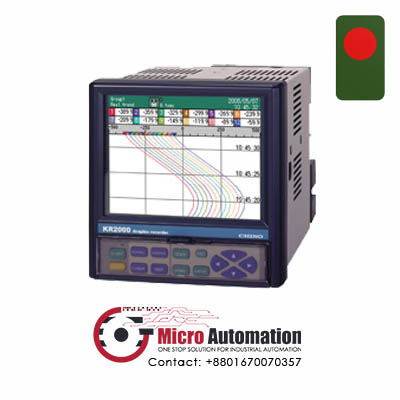 Chino KR2000 Series Graphic Recorder Bangladesh