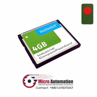 Swissbit 4GB Industrial Compact Flash Card Bangladesh