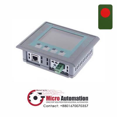 Siemens 6AV6 647 0AA11 3AX0 KPT 400 Basic Mono PN HMI