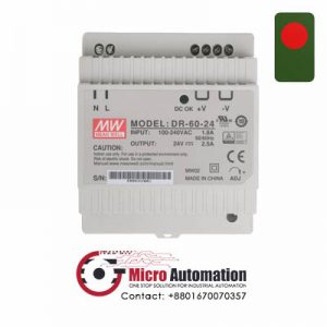 Mean Well DR 60 24 Power Supply Bangladesh