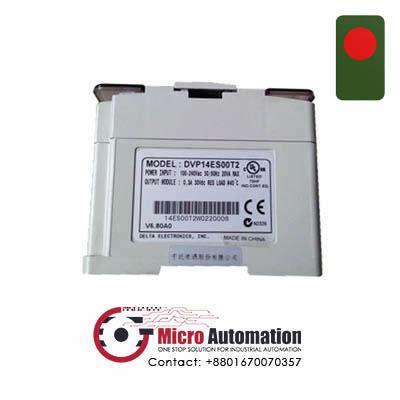 Delta DVP14ES00T2 PLC 100 240VAC Bangladesh