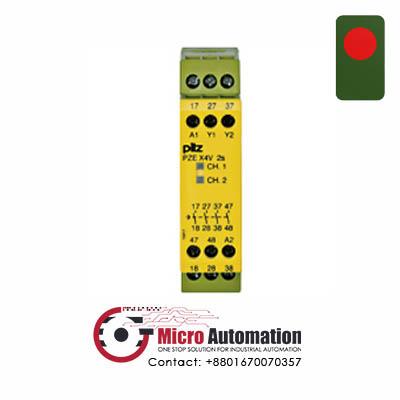 Pilz PZE X4V Safety Relay Bangladesh