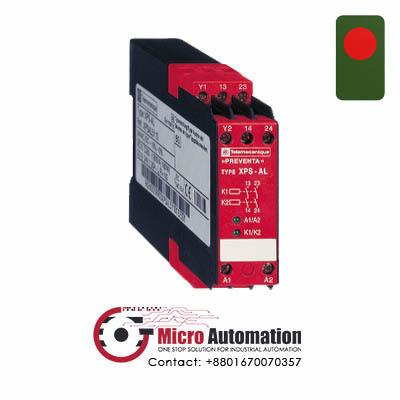 Telemecanique XPS AL Safety Relay Cat 3 Bangladesh